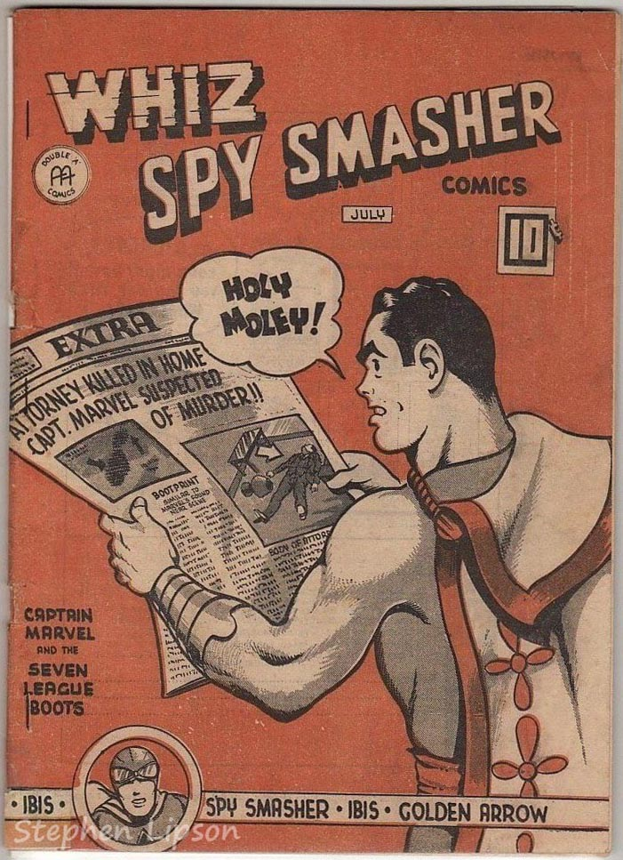 Whiz Spy Smasher comics v4 #6