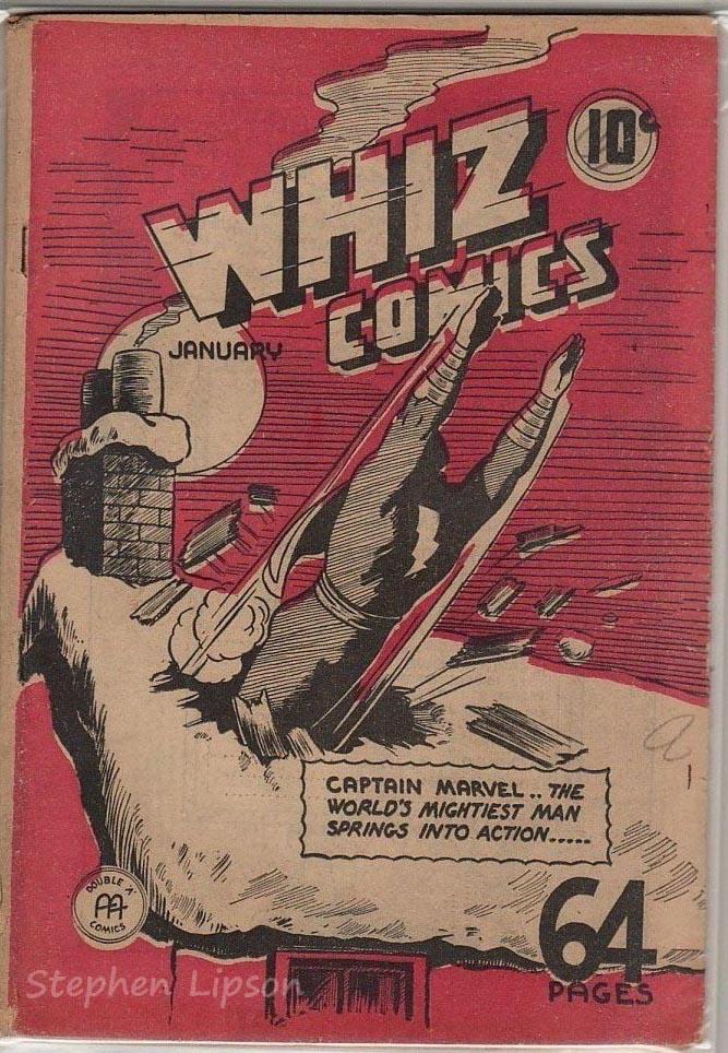 Anglo-American Whiz Comics v2 #1