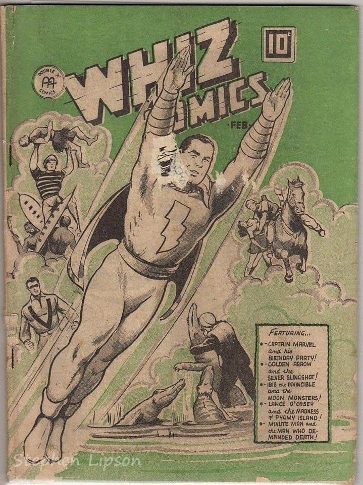 Anglo-American Whiz Comics v3 #2