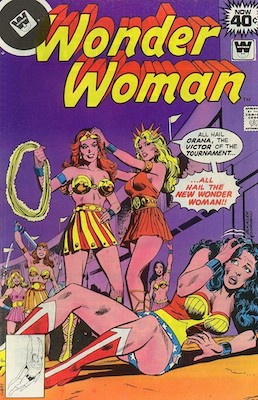 Wonder Woman #250. Click for current values.