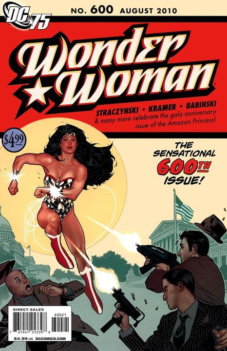#89: Wonder Woman 600 Hughes Sketch Variant Comics (2010). Click for values
