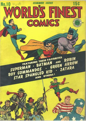 World's Finest Comics #10. Click for values.