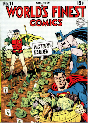 World's Finest Comics #11. Click for values.