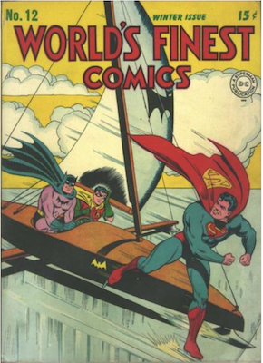 World's Finest Comics #12. Click for values.