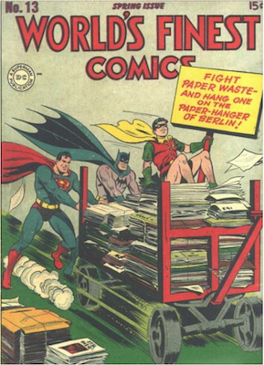 World's Finest Comics #13. Click for values.