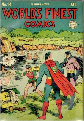 World's Finest Comics #14. Click for values.