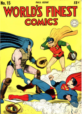 World's Finest Comics #15. Click for values.