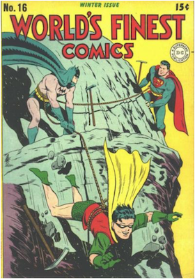 World's Finest Comics #16. Click for values.