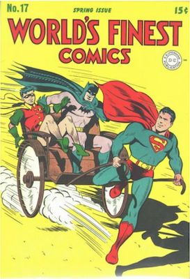 World's Finest Comics #17. Click for values.