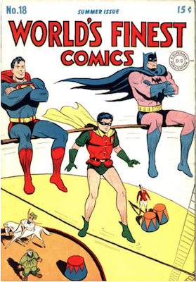 World's Finest Comics #18. Click for values.