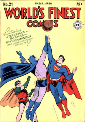 World's Finest Comics #21. Click for values.