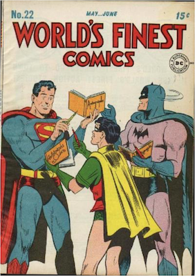 World's Finest Comics #22. Click for values.