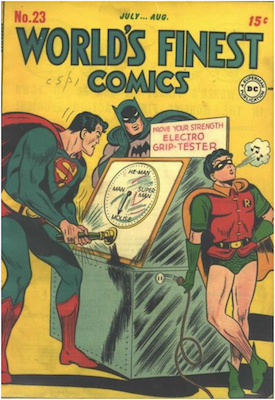 World's Finest Comics #23. Click for values.