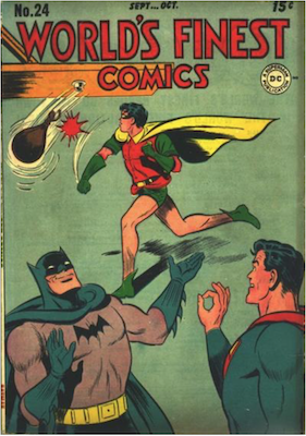 World's Finest Comics #24. Click for values.