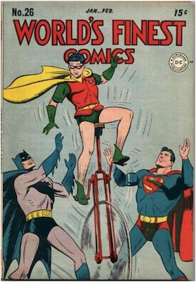World's Finest Comics #26. Click for values.