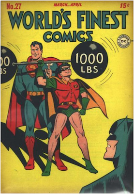 World's Finest Comics #27. Click for values.