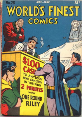 World's Finest Comics #28. Click for values.