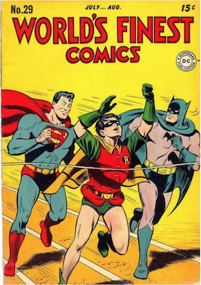 World's Finest Comics #29. Click for values.