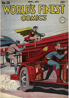 World's Finest Comics #30. Click for values.