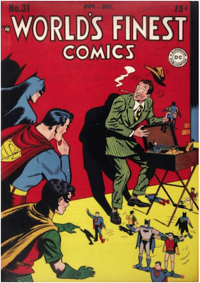World's Finest Comics #31. Click for values.