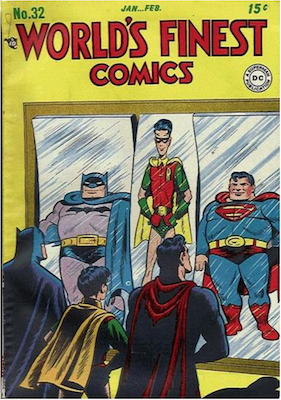 World's Finest Comics #32. Click for values.