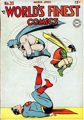 World's Finest Comics #33. Click for values.