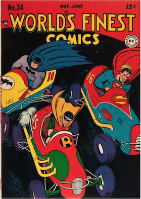 World's Finest Comics #34. Click for values.