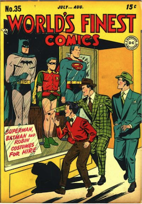 World's Finest Comics #35. Click for values.