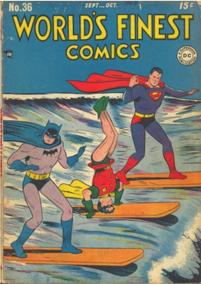 World's Finest Comics #36. Click for values.