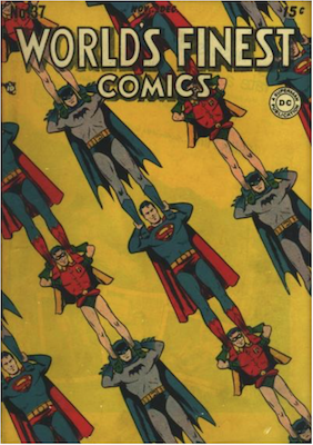 World's Finest Comics #37. Click for values.
