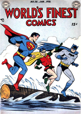 World's Finest Comics #38. Click for values.