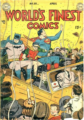 World's Finest Comics #39. Click for values.