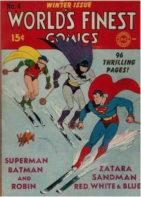 World's Finest Comics #4. Click for values.