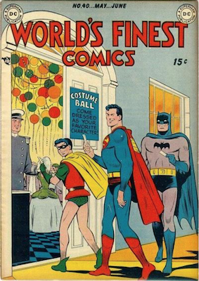 World's Finest Comics #40. Click for values.