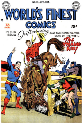 World's Finest Comics #42. Click for values.
