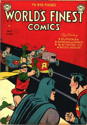 World's Finest Comics #44. Click for values.