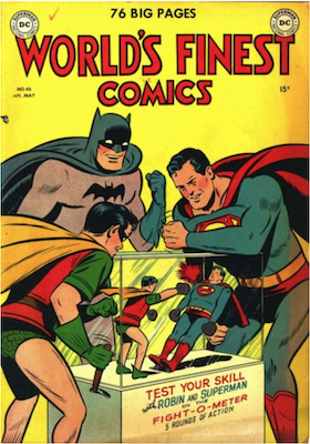 World's Finest Comics #45. Click for values.