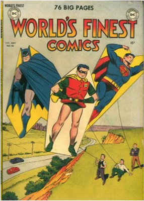 World's Finest Comics #46. Click for values.