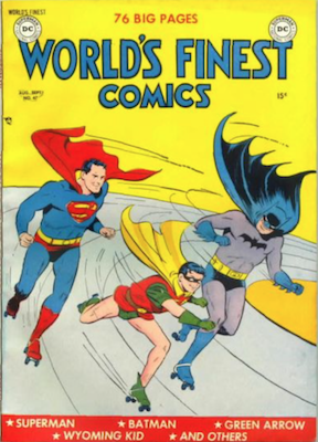 World's Finest Comics #47. Click for values.