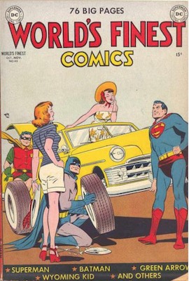 World's Finest Comics #48. Click for values.