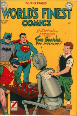 World's Finest Comics #49. Click for values.