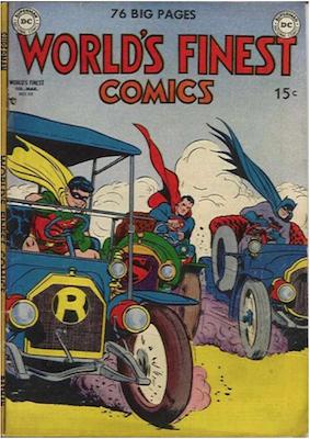 World's Finest Comics #50. Click for values.