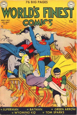 World's Finest Comics #51. Click for values.