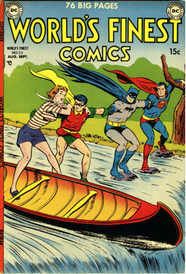 World's Finest Comics #53. Click for values.