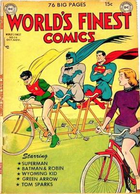 World's Finest Comics #54. Click for values.