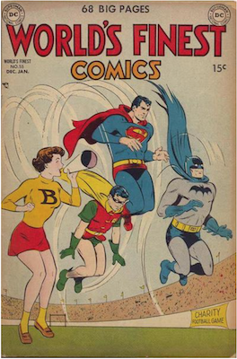 World's Finest Comics #55. Click for values.