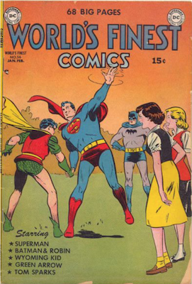 World's Finest Comics #56. Click for values.