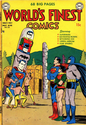 World's Finest Comics #58. Click for values.