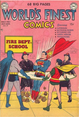 World's Finest Comics #59. Click for values.