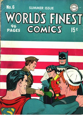 World's Finest Comics #6. Click for values.